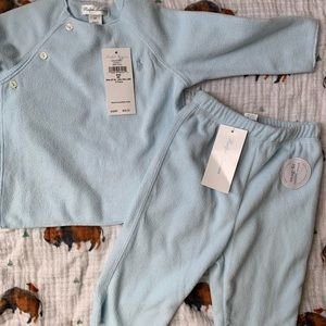 Ralph Lauren baby boy fleece set